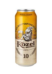 Kozel 0.5 l 10% PLECH