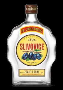 Slivovice budík 0.7 l Bílá 45%