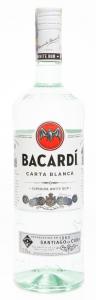 Bacardi Carta Blanca 1.0 l 37.5%