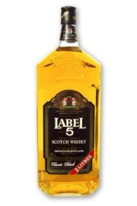 Label 5 Whisky 2.0 l 40%