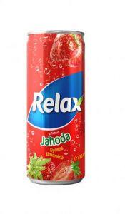 Relax Plech Jahoda 0.33 l