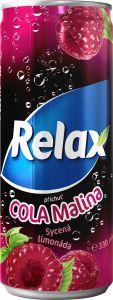 Relax Plech Cola Malina 0.33 l