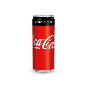 Coca Cola Zero 0.33 l PLECH