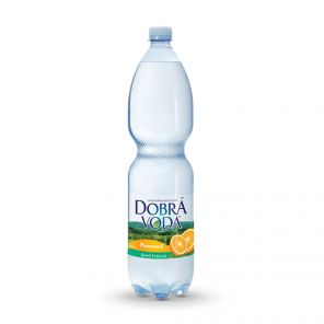 Dobrá voda 1.5 l Pomeranč