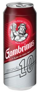 Gambrinus 10% 0.5 l PLECH