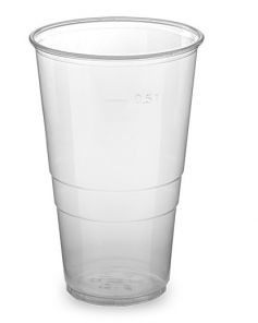 Kelímek plast 0.5 l 50 ks
