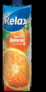 Relax Pomeranč 1.0 l 100%