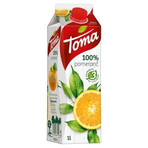 Toma 1.0 l Orange 100%