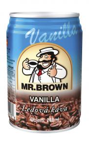 Mr.Brown 0.24 l Vanilla plech