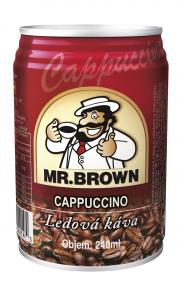 Mr.Brown 0.24 l Cappuccino plech