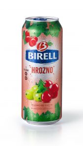 Birell 0.5 l Hrozno PLECH