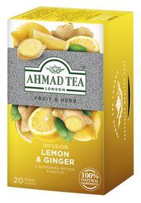 Ahmad Lemon Ginger 20 ks HB