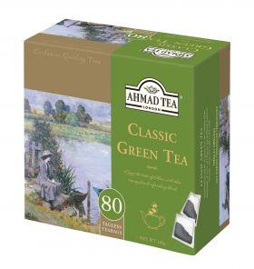 Ahmad 80 sáčků Green Tea bez úvazku