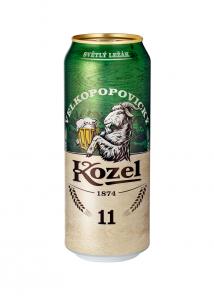 Kozel 0.5 l 11% PLECH