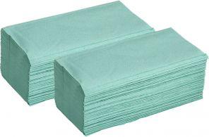 Papírové Ručníky ZZ zelené