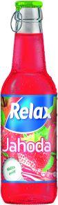 Relax sklo Jahoda 0.25 l