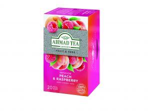 Ahmad Raspberry Peach 20 ks HB