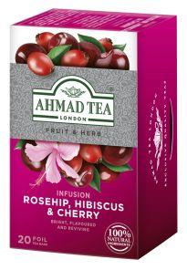 Ahmad Rosehip-Cherry 20 ks HB