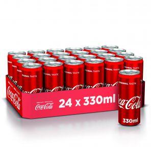 Coca Cola 0.33 l PLECH