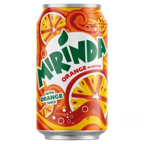 Mirinda 0.33 l Orange PLECH
