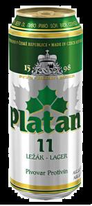Platan Plech 11% 0.5 l