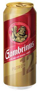 Gambrinus 12% 0.5 l PLECH