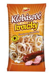Klobásové kroužky 70g Golden Snack