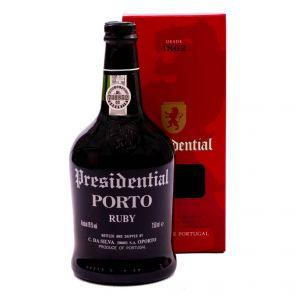 Porto Presidential Ruby 0.75 l