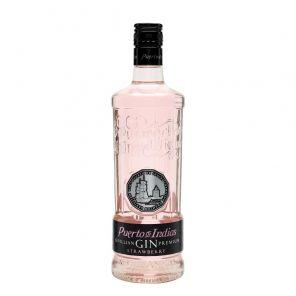 Gin Puerto de Indias Strawberry 0.7 l 37,5%